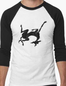 sleeping italian greyhound Men's Baseball ¾ T-Shirt