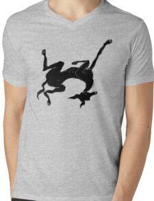 sleeping italian greyhound Mens V-Neck T-Shirt
