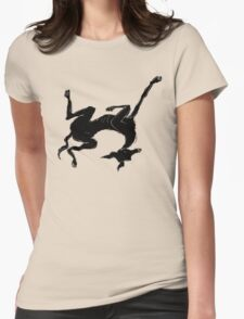 sleeping italian greyhound Womens Fitted T-Shirt