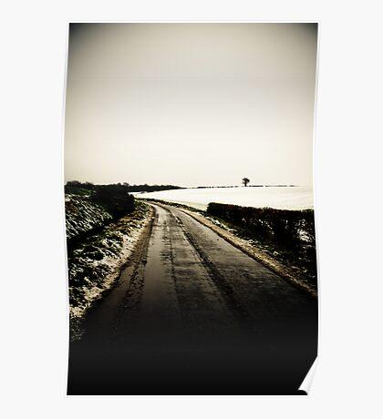 Slushy road Poster