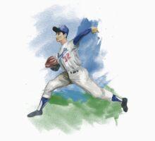 Sandy Koufax by John Rodriguez