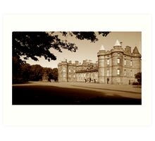 Holyrood Palace. Edinburgh Art Print