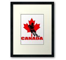 canada hockey Framed Print