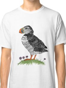 Puffin in colour Classic T-Shirt