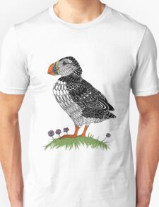 Puffin in colour Unisex T-Shirt