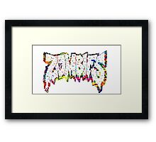 Flatbush Zombies Trippy Framed Print