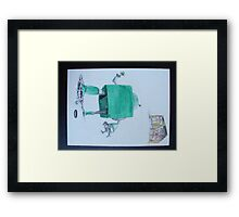 Robbi at the end of the world #2 Framed Print