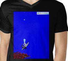 Deep Reef Diving Underwater Mens V-Neck T-Shirt