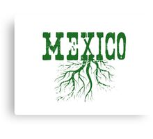 Mexico Roots Canvas Print