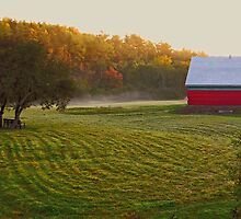 Thompson Farm by Kathleen   Sartoris