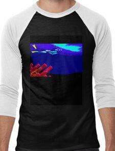 Kate Kelly Diving Men's Baseball ¾ T-Shirt