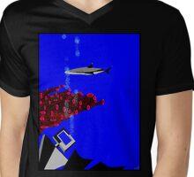 Reef Diving sharks about Mens V-Neck T-Shirt