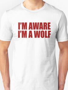 Kanye West - I'M AWARE I'M A WOLF Unisex T-Shirt