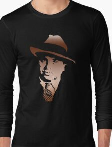 al capone portrait Long Sleeve T-Shirt