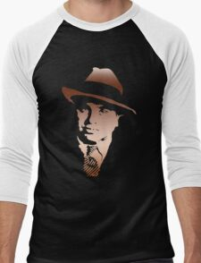 al capone portrait Men's Baseball ¾ T-Shirt