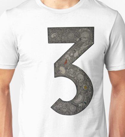 Number 3 Unisex T-Shirt