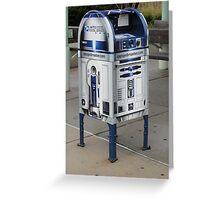 Star Wars R2D2 Mailbox Greeting Card