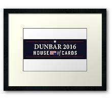 House of Cards - Dunbar 2016 Framed Print