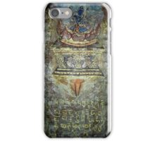 Yoga of Sleeping - Lotus and Guru detail iPhone Case/Skin