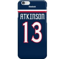 Columbus Blue Jackets Cam Atkinson Jersey Back Phone Case iPhone Case/Skin