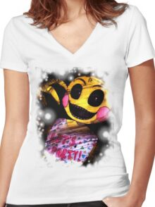 Toy Chica Women's Fitted V-Neck T-Shirt