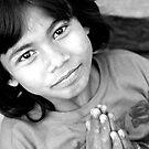 Nepali girl by David Reid