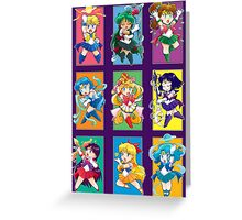 Senshi Blocks Greeting Card