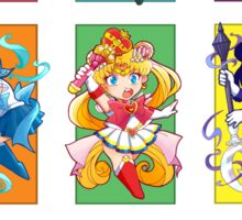 Senshi Blocks Sticker