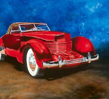 1938 Cord by GregoryAlston