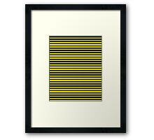 Bumble Bee Pattern (Pouches, Leggings) Framed Print