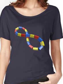 Toy Brick Infinity Women's Relaxed Fit T-Shirt