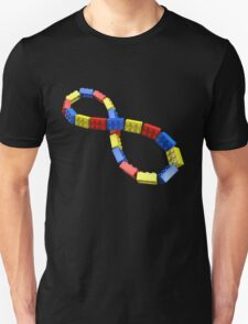 Toy Brick Infinity Unisex T-Shirt