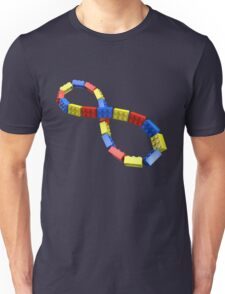 Toy Brick Infinity Unisex T-Shirt