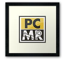 PC Master Race - Patch Framed Print