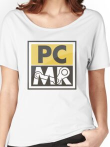 PC Master Race - Patch (Full Size For Shirt) Women's Relaxed Fit T-Shirt