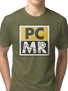 PC Master Race - Patch (Full Size For Shirt) Tri-blend T-Shirt