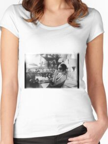 00397 Women's Fitted Scoop T-Shirt