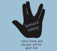 Leonard Nimoy Fans by ohsotorix3