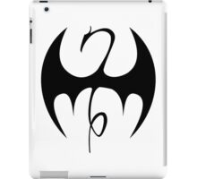 Iron Fist (Black) iPad Case/Skin