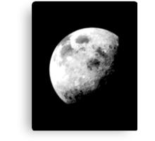 Eclisping Moon Canvas Print