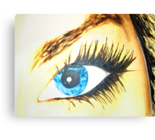 dee eye Canvas Print