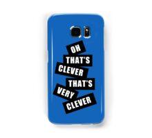 """Clever"" Samsung Galaxy Case/Skin"