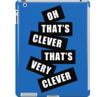 """Clever"" iPad Case/Skin"