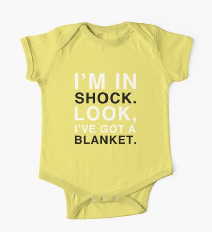 Shock Blanket One Piece - Short Sleeve