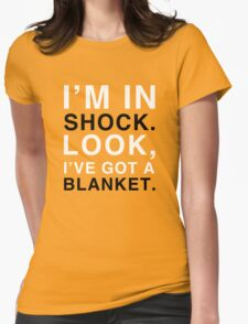 Shock Blanket Womens Fitted T-Shirt