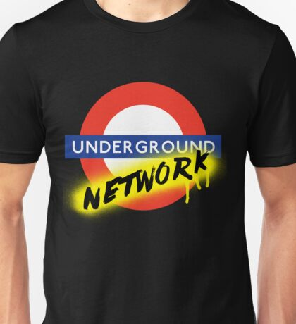 The UNDERGROUND Network Unisex T-Shirt
