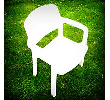 must remember to take gardenfurniture inside Photographic Print