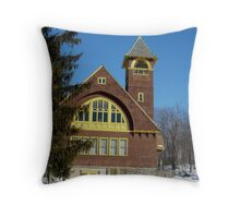 Second Congregational Church S Royalston MA Throw Pillow
