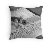 Theres rubbish on tv these days... Throw Pillow