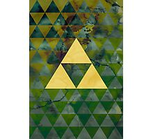 Geometric Link Photographic Print